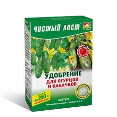 Чистий лист*Огірки-Кабачки* (100г)