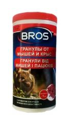 БРОС гранули від гризунів(банка,мумія) (250г)