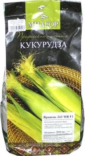 Кукурудза кормова Яровець 243 МВ F1 (3000шт)