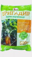 Буряк кормовий Бригадир (оранжевий) (500г)