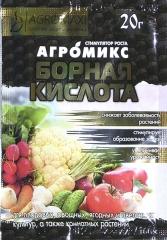 Борна кислота Агромікс (20г)