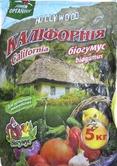 """Біогумус """"Каліфорнія"""" (5кг)"""