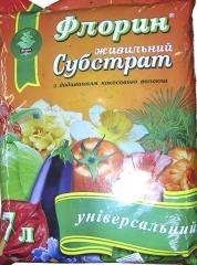 Субстрат Флорін універсальний з кокосом (7л)