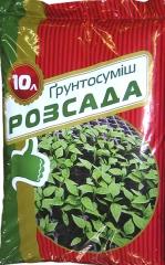 Субстрат Грунтосуміш Розсада (10л)
